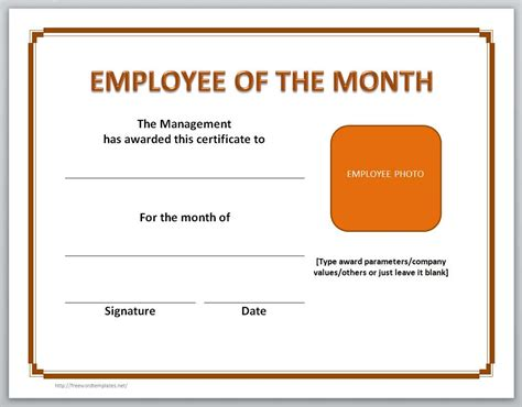 employee certificate templates 13 free certificate templates for word microsoft and