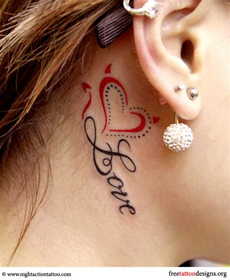 tattoo quotes behind ear cool tattoo ideas for girls and women 25 designs