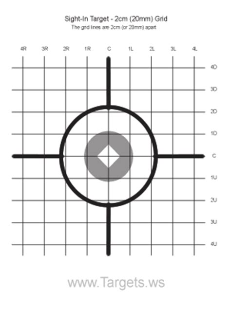 printable rifle sight in targets common worksheets 187 printable target preschool and