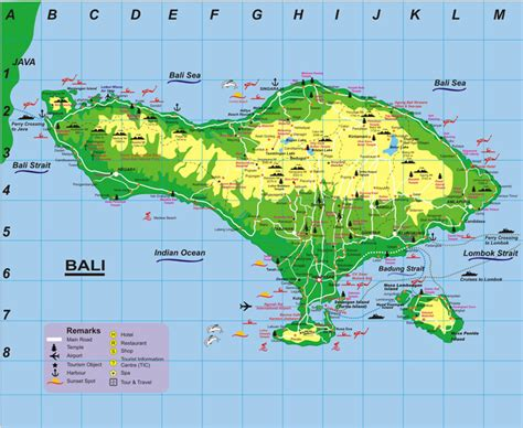 map of bali map of bali indonesia images