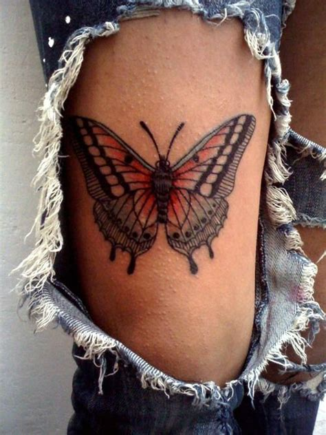 butterfly tattoo placement 166 best butterfly tattoo images on pinterest tattoo