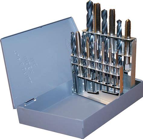 Rrt Tap Balik Satu Set tool drillco 18pc 18 unc tap drill bit
