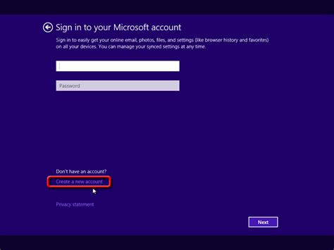 8 Recent You To by Skip Sign In To Your Microsoft Account Windows 8 1 Setup
