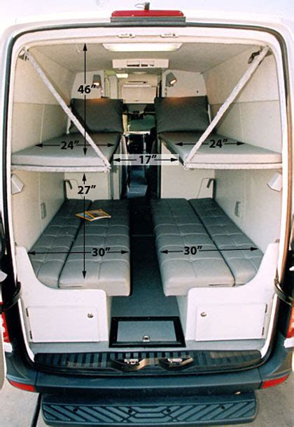 Westfalia Awning Sprinter Dyo 7 Bunks And Platform Beds Sportsmobile