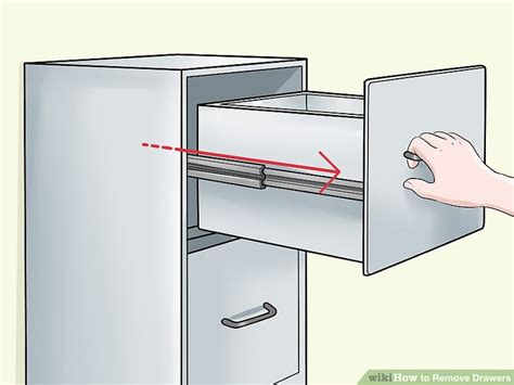 remove ikea drawer 5 ways to remove drawers wikihow