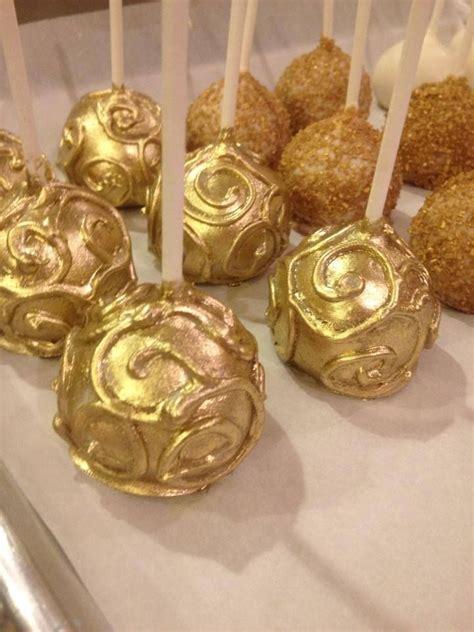 Gold Dust Cake Pops The Great Gatsby Pinterest Cake