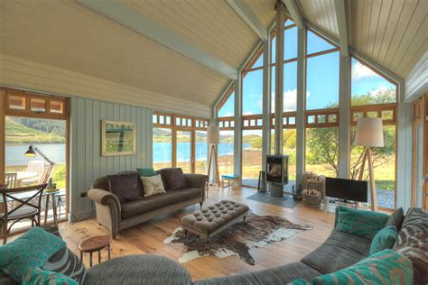 West Coast Cottages self catering cottages at rahoy estate on remote sea loch loch teacuis west coast of