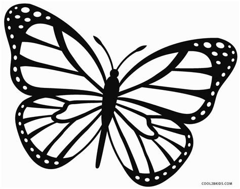 black and white coloring pages of butterflies monarch butterfly coloring page coloring pages