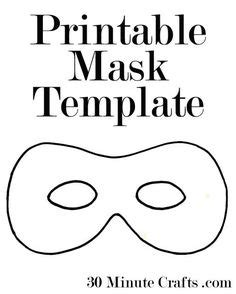 printable robber mask template downloadable mask template superhero vintage bright