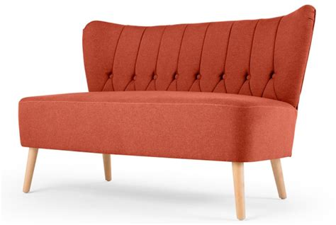 retro 2 seater sofa charley retro two seater sofa at made