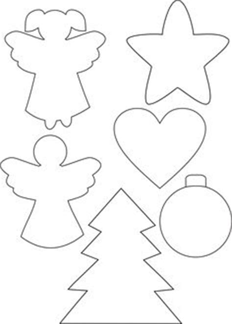 christmas ornament shapes to print 1000 ideas about templates on templates card templates and