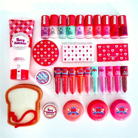 Etude House Berry Delicious Color In Fit Sle review etude house berry delicious collection with