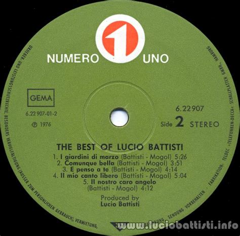 the best of lucio battisti germania pagina 4 io tu noi tutti