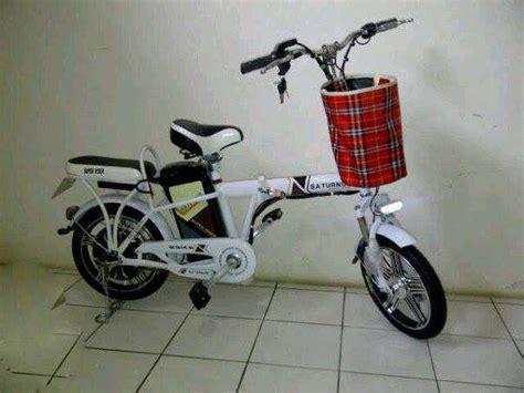 Sepeda Listrik Saturnus Bisa Dilipat Merk Rider Bisa Cod jual sepeda listrik spt motor rider tipe saturnus