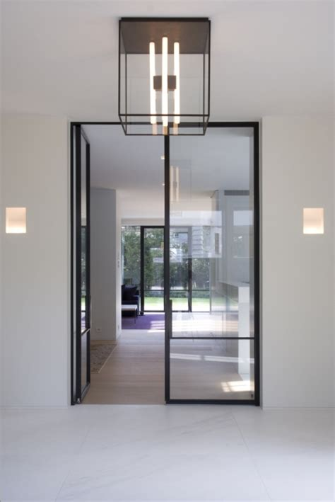 Mondrian Internal Steel Framed Doors Products Iq Glass Metal Framed Glass Doors