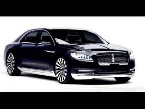 new lincoln continental luxury car comes 2016 youtube