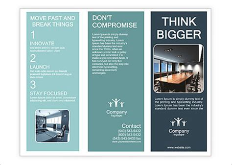 conference brochure template 20 conference brochure templates