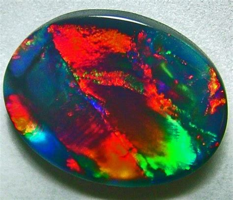 black opal 7 2ct australian black opal found in the mines of white cliffs