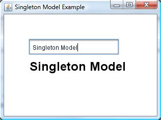 singleton pattern in java with exle code james weaver on java javafx tips and tricks using