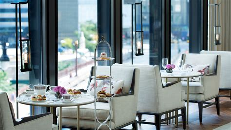 afternoon tea with wedgwood chicago luxury hotel the