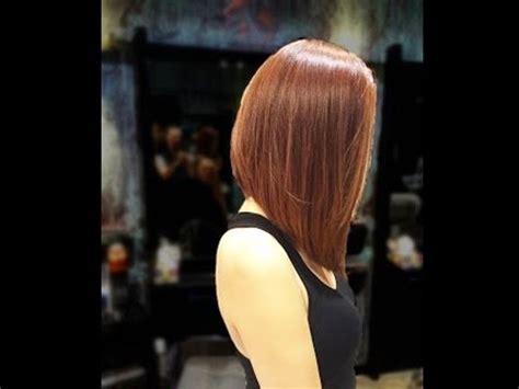 long bob haircut tutorial new bob haircut 2016 youtube