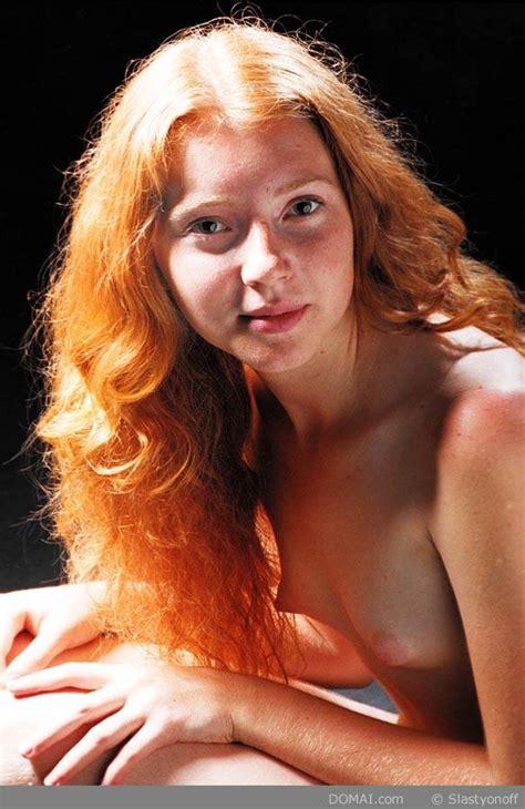 Misha Slim Pale Freckled Redhead Teen Blonde Porn