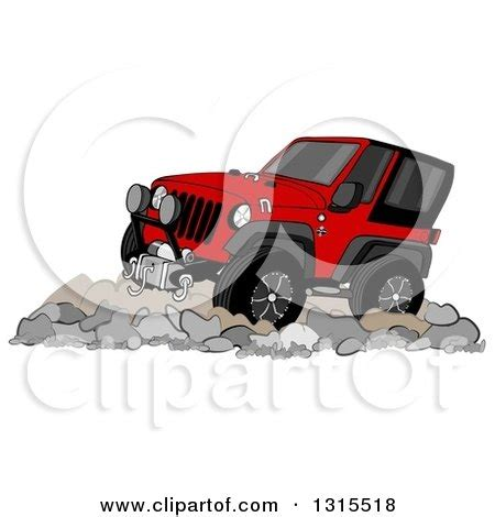 red jeep clipart clipart 3d zebra jeep wrangler convertible suv royalty