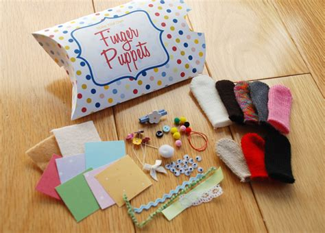 How To Make Handmade Puppets - finger puppet kit gifts the happy