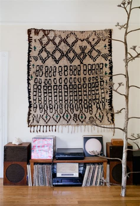 Rug For Wall by Nostalgiecat Interior Trend Rugs On Walls