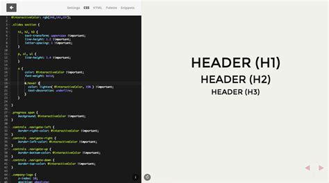 themes generator css theme editor slides help