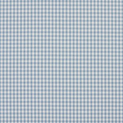 Gingham Upholstery Fabric by Palazzo Fabrics Aero Blue And White Small Gingham Cotton
