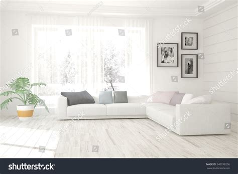 home lounge interior design with window download 3d house white living room interior sofa winter stock illustration
