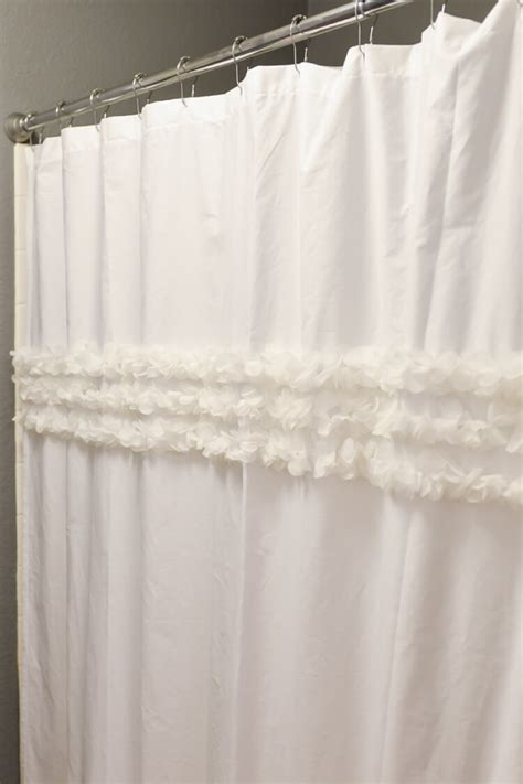 make a shower curtain how to make a shower curtain from a flat sheet