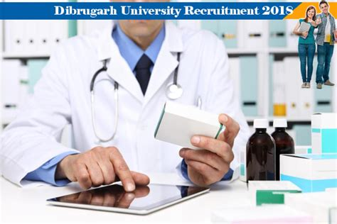 Pharmacist Vacancy by Dibrugarh Vacancy For Pharmacist Diploma