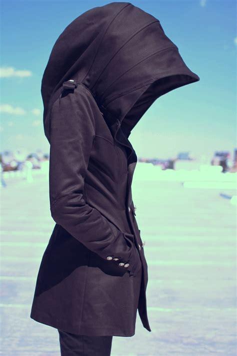 Hooded Coat hooded coat by joseph madeo hustlegrl