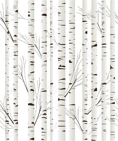 Stick On Wood Wall birch tree wallpaper birches and tree wallpaper on pinterest