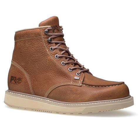 timberland wedge boots timberland pro men s 6 barstow wedge boots boot barn