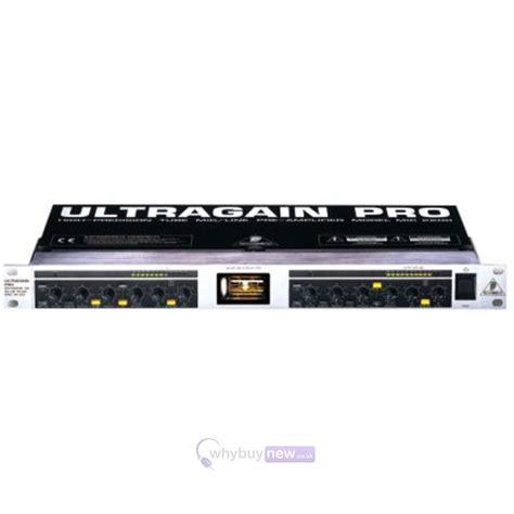 Ultragain Pro Mic2200 behringer ultragain pro mic2200 whybuynew