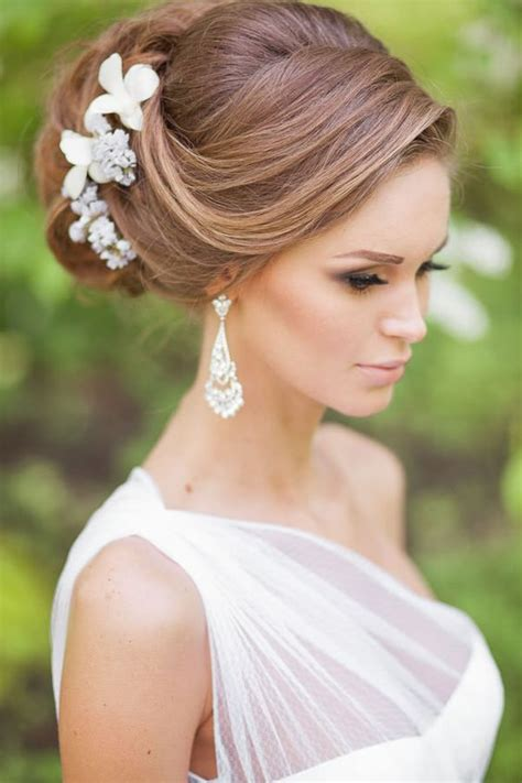 Wedding Hairstyles For Thin Hair by Pretty Wedding Hairstyles For Hair Weddingwide