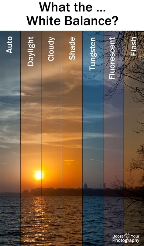 White Balance what the white balance boost your photography