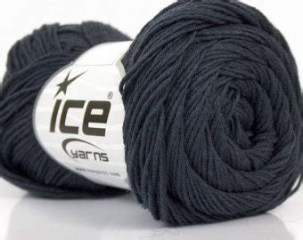 light worsted weight cotton cotton yarn 50g ball 115 yards worsted weight grey gray