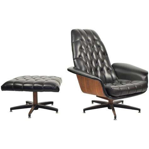 Plycraft Chair For Sale by Mister Chair And Ottoman By George Mulhauser For Plycraft