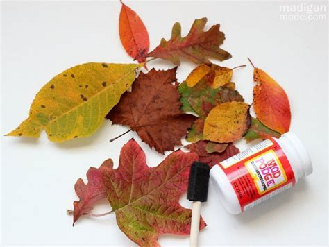 Decoupage Leaves - 318 best images about fall on