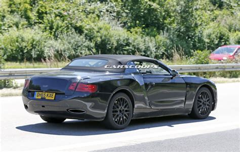 bentley all bentley spied testing all new 2018 continental gtc carscoops