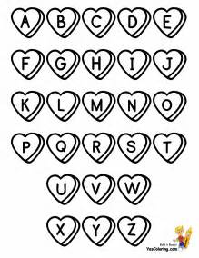 sweet valentine alphabet coloring alphabet coloring
