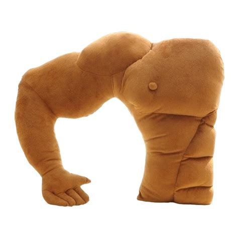 boyfriend arm plush cotton pillow living