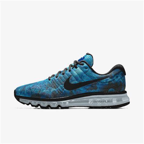 nike running shoes id blue mens nike air max 2017 shoes
