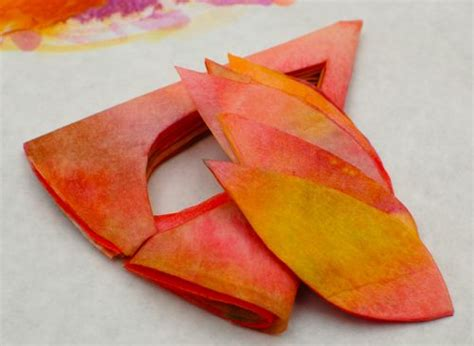 How To Make Fall Leaves Out Of Paper - easy recycled crafts fall wreaths inner child