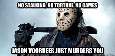 Jason Voorhees Meme - 124 best jason images on pinterest horror films horror