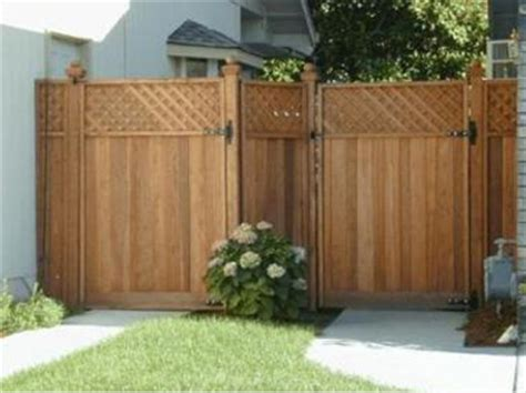 some wood fence design for your home exterior house paint